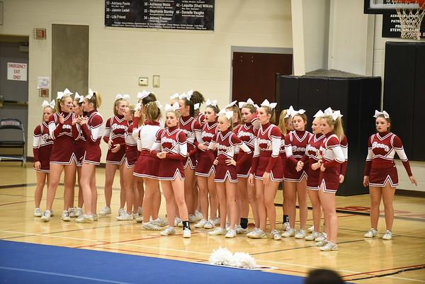 BHS Cheer-Regionals 2015