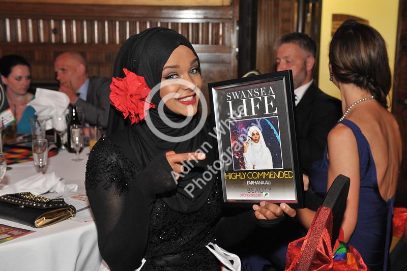 Swansea Life Awards 2017 Brangwyn Hall, Swansea Beauty Highly Commended Farhana Ali