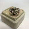 1.02ct Round Brilliant Diamond Bezel Ring 20
