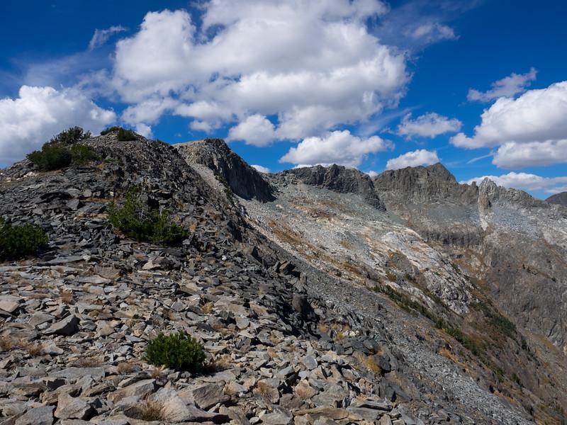 An easy spot on the ridge.