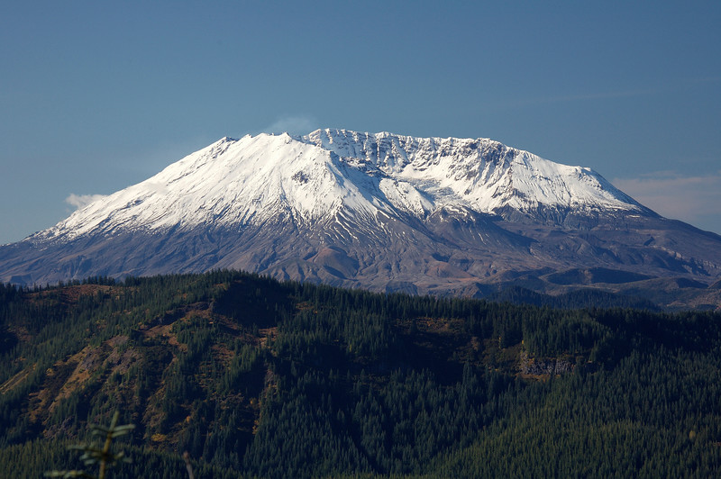 Mt St Helens from Burley Mountain Lookout