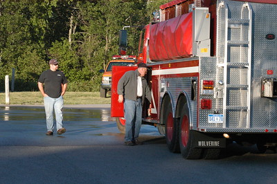Chocolay /  Sands Township Fire Joint Training 2007