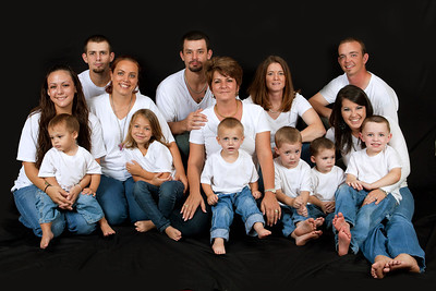 Family Group Portraits 5-13-11