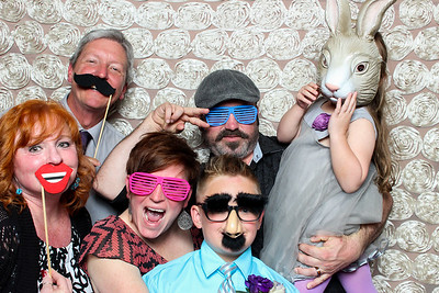 Rachel + Adam's Wedding Photo Booth