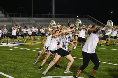 Memorial Stadium Rehearsal, Sept 9, 2019