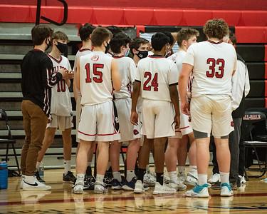 2021 Boys JV Basketball:  Hall-Dale vs Oak Hill