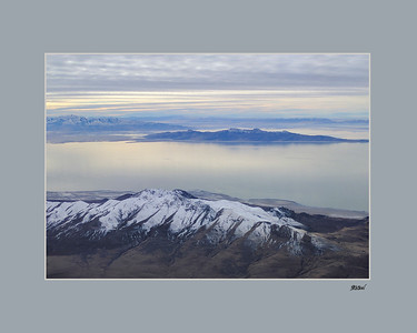 Antelope & Stansbury Islands  in the Great Salt Lake