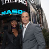 "Host, Naomi Campbell along with her fellow castmates of Oxygen's, ""The Face"" close the market."