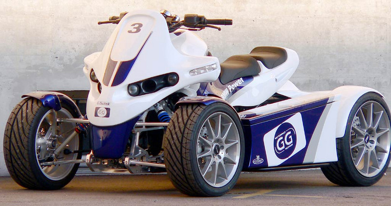 BMW GC Williams quad - OK, it's not a motorcycle but cool all the same..........I want one!!!!!