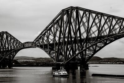 Scotland, Noir et Blanc