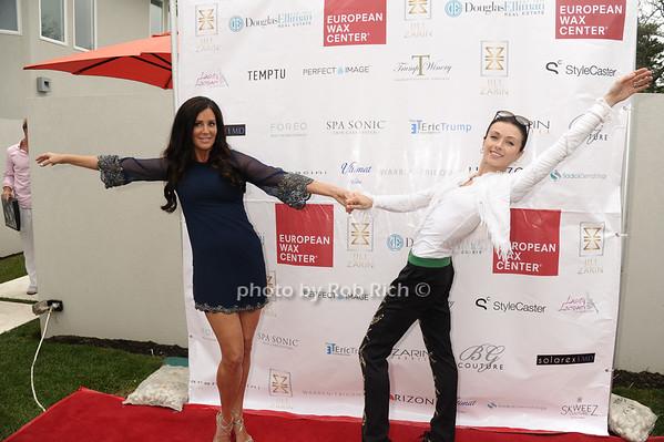 Millionare Matchmaker Patti Stranger and Irina Dvorovenko photo by Rob Rich/SocietyAllure.com © 2013 robwayne1@aol.com 516-676-3939