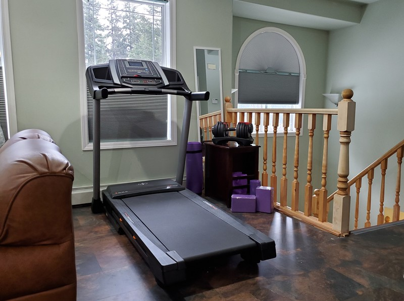 Exercise Area in Eagles Nest Suite