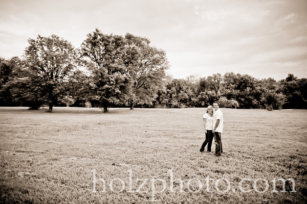 Tiffany and B.j. Creative Engagement Photos (Louisville, Ky)