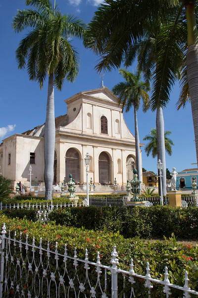 Trinidad central plaza.