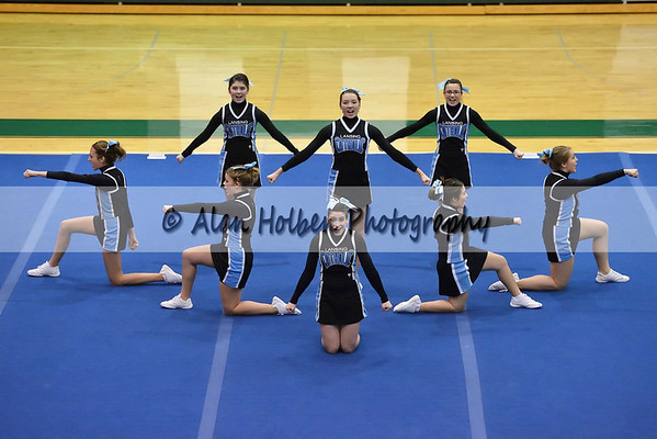 Competitive Cheer at Williamston
