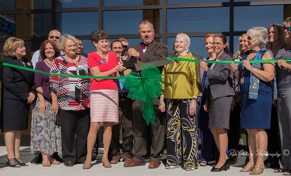 Shannon Staub Library Opening Ceremony