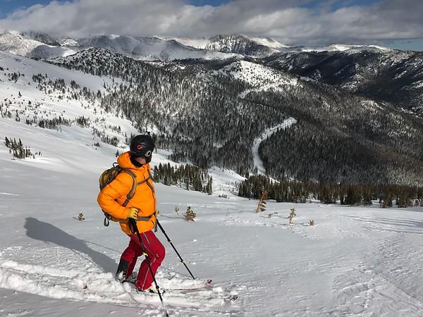 Skiing Hidden Valley 1/14/17