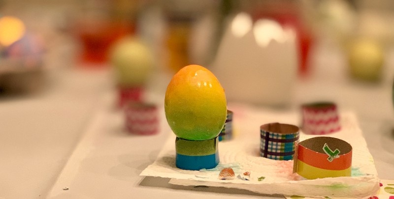 2019.04.20 Easter Egg coloring