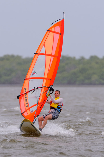 Wind Surfing in Hurrican Isaac's Approach 08/26/2012