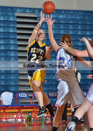 Girls Freshmen Basketball Dewitt at Mason
