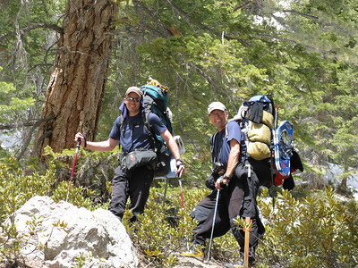Winter Ascent of Mt Whitney via the Mountaineers Route with the CMC 3/25-28