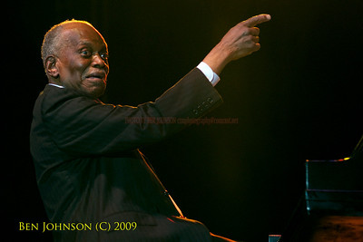 Pianist Hank Jones - A Photo Tribute - Images from the 2009 Detroit Jazz Festival