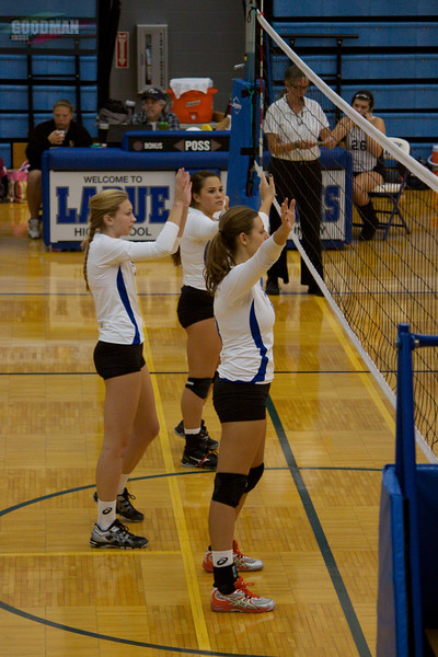 Ladue Varisty Vollyball Vs MICDS 10-9-2012
