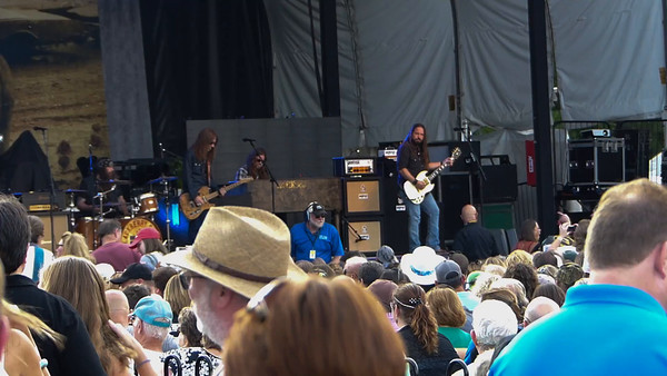 Blackberry Smoke at Innsbrook ~ Aint much left of me