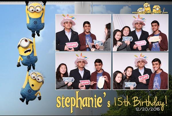 Stephanie's 15th Birthday Party