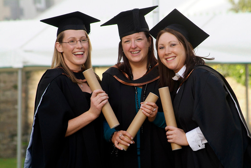 Waterford Institute of Technology graduates of BSc (Hons) in General Nursing, pictured at the conferring of academic awards (l-r): Catherine Greed, Templemore, Co. Tipperary; Sara Ryan, Templemore, Co. Tipperary and Linda Wallace, Cashel, Co. Tipperary. (pic-photozone)