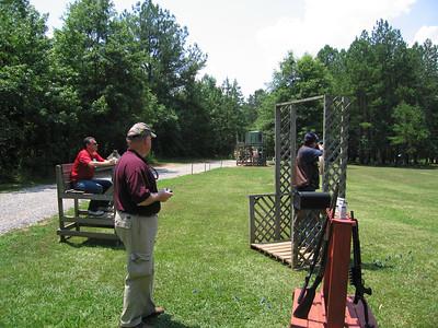 Skeet Shooting at Selwood Farms