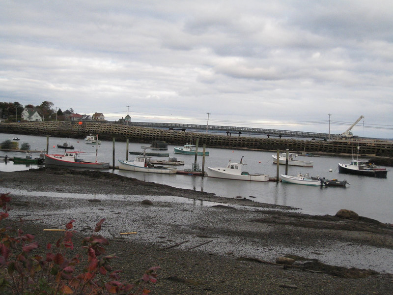 The Cribstone Bridge on Bailey Island