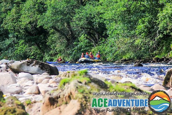 22nd Aug 2015 Half Day Rafting & Canoe