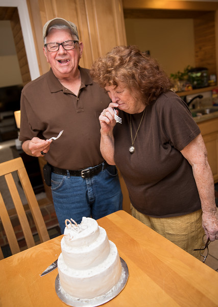 Mam and Badge Laughing at the Cake.jpg