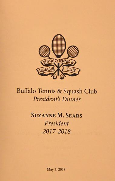 Buffalo Tennis & Squash Club President's Dinner 2018