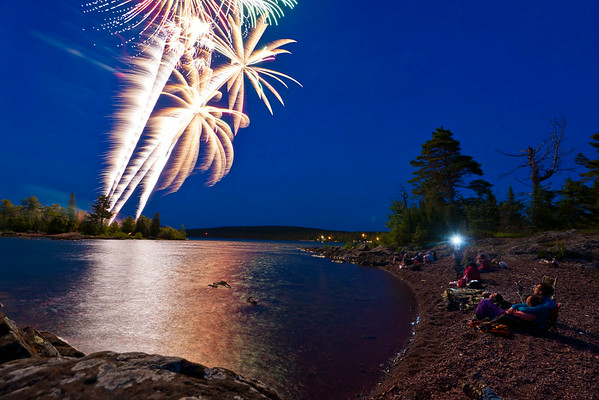 July 4th Copper Harbor