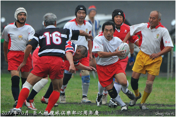 巨人45周年隊慶-巨人 VS WAKWAK+三丁目(Over 60)-Game1