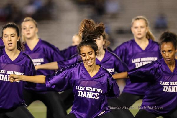 Dance Team at Yorktown Football Game 9/21/18