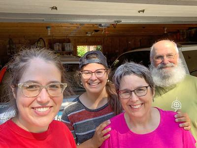 2020 07 31: Federica Starts Move to North Carolina