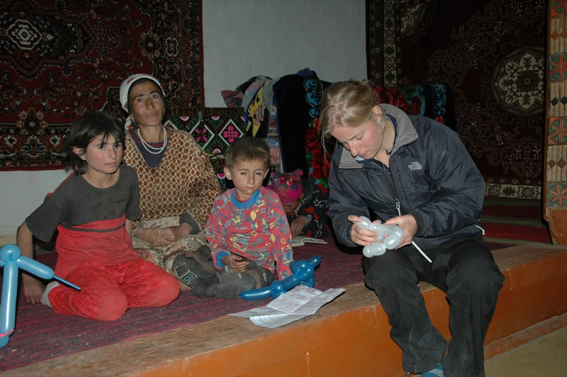 Pamiri Home, Animal Balloons - Pamir Mountains, Tajikistan