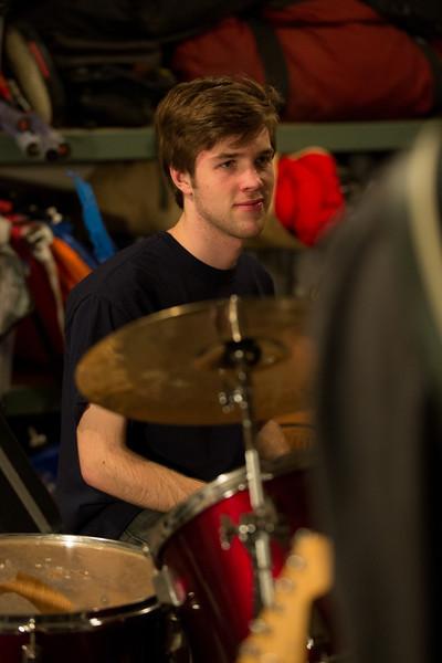 Gabe Garage Jam with Morgan,Alex and Ben January 12,2014
