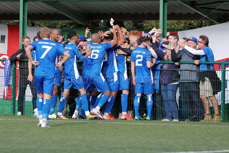 CHIPPENHAM TOWN V WHYTELEAFE FC F.A. CUP 4th QR MATCH PICTURES 19th OCTOBER 2019