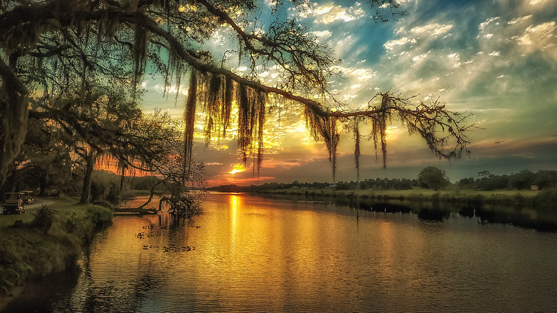 Calhoosahatchee River Sunset