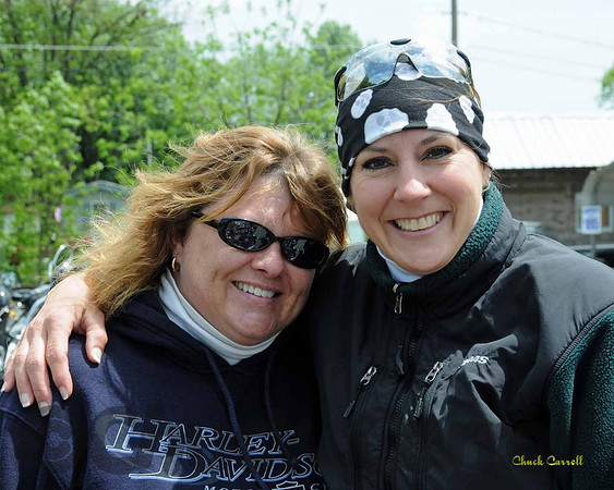 Women Motorcycle Riders of Central PA  --  1st Official Ride  -- May 17, 2009