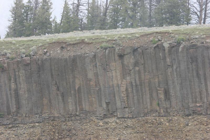 side of caldera