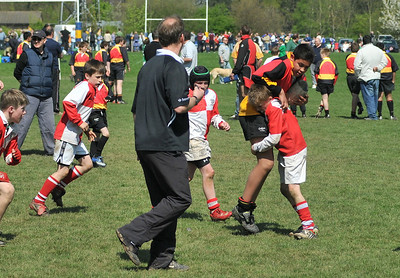 April 2009  Mini Rugby Tournament at  Kenilworth -play