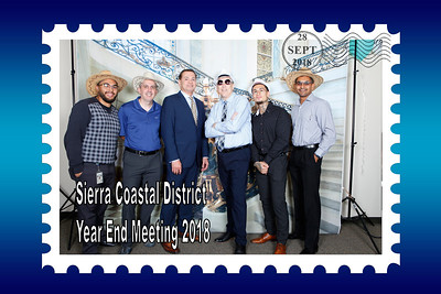 Sierra Coastal District Year End Meeting 09/28/2018