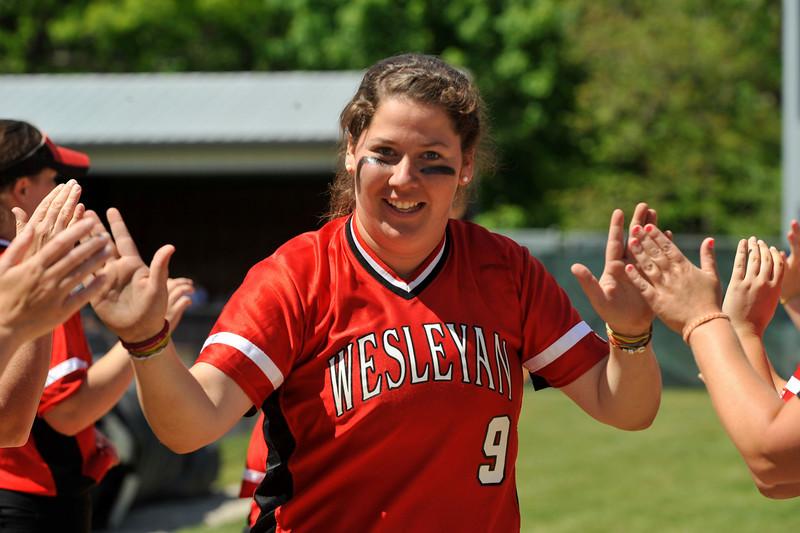 Wesleyan University Cardinals Softball Team