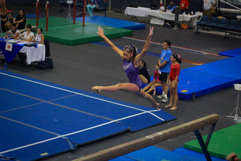 Competencia Gimnasia Costa Rica Junio 2009