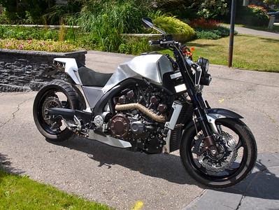 2009 Yamaha VMAX Custom on Iconic Motorbike Auctions